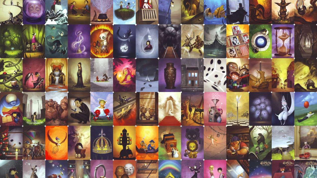 Dixit Card Set