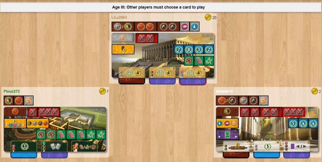 7 Wonders Gameplay