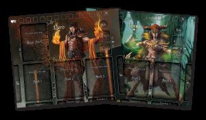Black Rose Wars Character Sheets