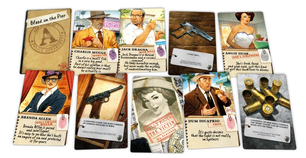 Detective: City of Angels Cards