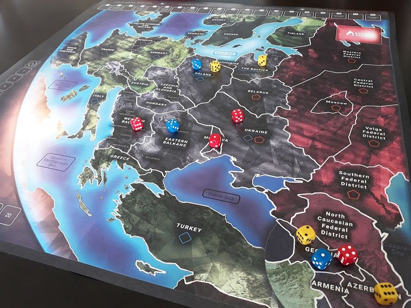 Europe Divided Board