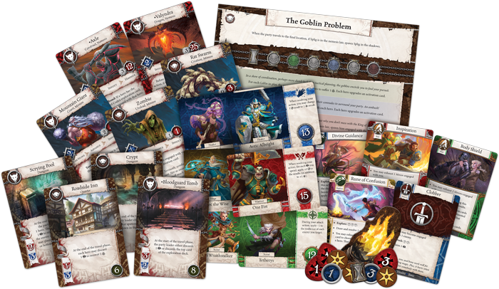 Heroes of Terrinoth Contents