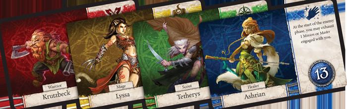 Heroes of Terrinoth Heroes