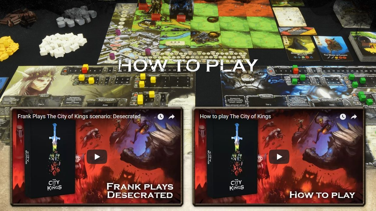 How to Play City of Kings