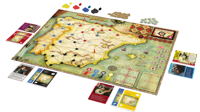 Pandemic: Iberia Board