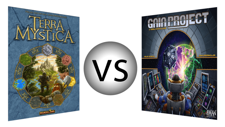 Terra Mystica vs Gaia Project