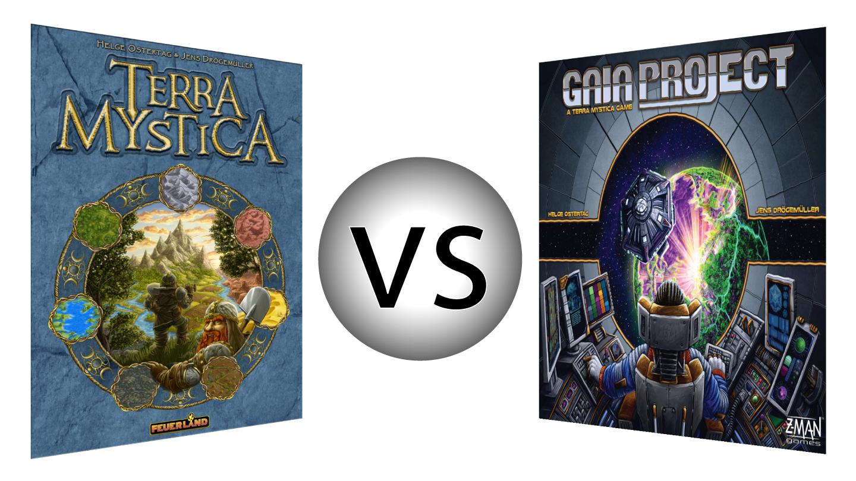 Terra Mystica vs Gaia Project