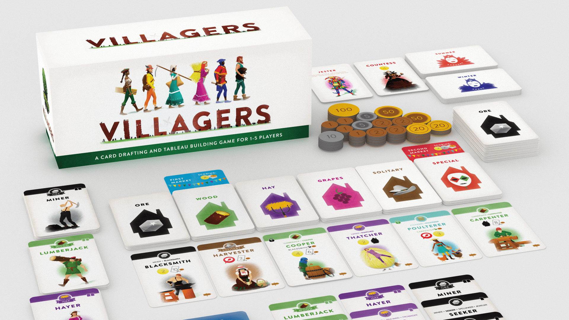 Villagers Tableau